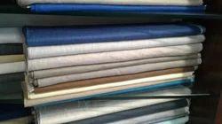 Multi Colour Plain Suiting Fabric