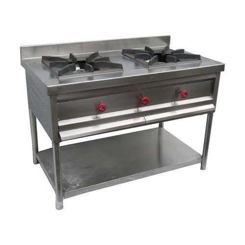 Industrial Two Burner Stove