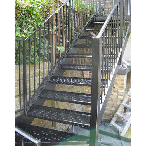 Outdoor Steel Staircase