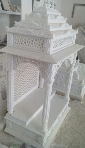 White Ia Marbles Home Decor Temple Rs 90000 Piece I A Marbles