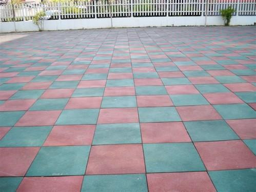 Gym Flooring Rubber Tile Warranty 1 Year Rs 88 Square Feet Id