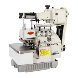 Overlock Chain Stitch Elastic Attaching Sewing Machine