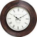 Lining Wood Polish Carving Clock