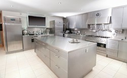 Glaze Stainless Steel Kitchen