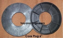 152mm Plastic Core Plug (6 Inch)