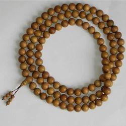 Sandalwood Beads Religious Wooden Prayer Beads Mala Rosary Bead