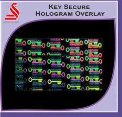Key Secure Hologram Overlay