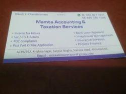 Income Tax Return, Vat/CST Return, ROC Compliance