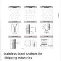 Stainless Steel Anchors for Shipping Industries