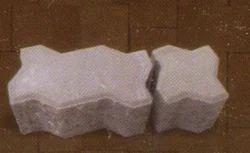 Gray Zig Zag Brick