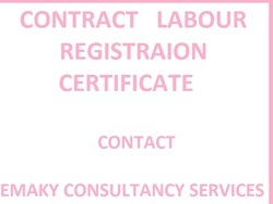 Contract Labour Registration Certificate Service