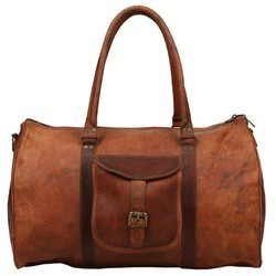Genuine Leather Traveling Duffel Bag DUFF107