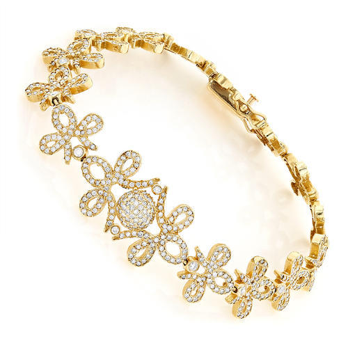 ladies designer gold bracelet at rs 20000 pieces gold