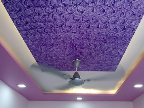 Interior Designing Texture Painting Suhaa Creations Kalyan ID