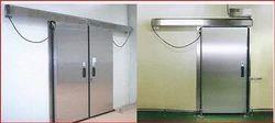 Automatic Sliding Steel Doors