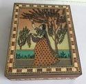 Wooden Gem Stone Box