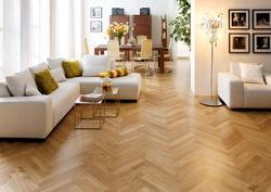 Herringbone Oak Wooden Flooring