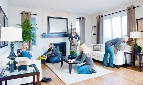 Living Room Cleaning Services, House Cleaning Service, House Keeping ...