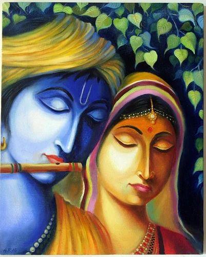 Radha Krishna Painting 1