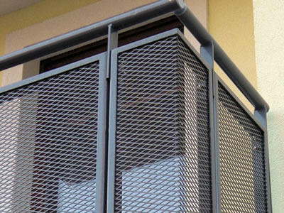 Expanded Metal Balcony Mesh View Specifications