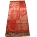 Radish Cotton Velour Floral Bath Towel