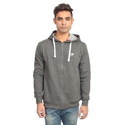 Dark Grey Zipper Hoodies
