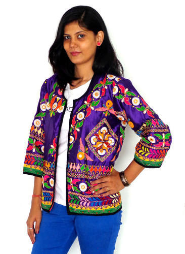 Indian Hand Banjara Style kutch Embroidered Jacket