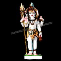 Marble Shiva God Statue