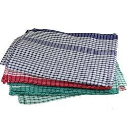 Multicolor Checked Cotton Towel