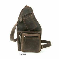 Cotnis Brown Hunter Leather Bag Pack