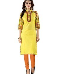 Formal Wear Ladies Cotton Kurti