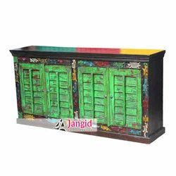 Jangid Art And Crafts Indian Antique Door Sideboard