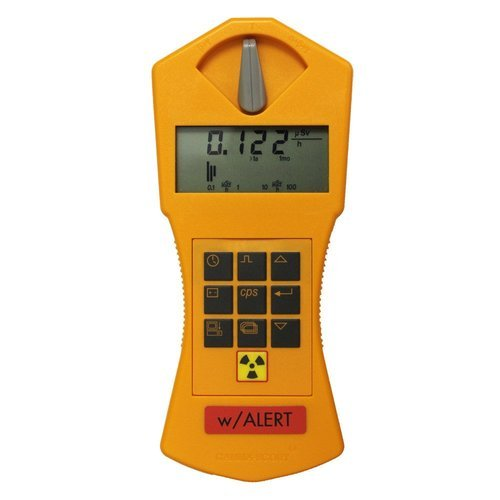 Radiation Survey Meter, Standard and W/Alert