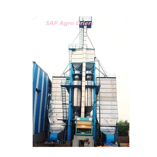 Industrial Paddy Para Boiling Dryer Plant