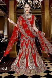 Threadwork Embroidered Lehengas for Brides