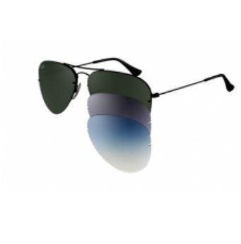 gafas ray ban aviator flip out
