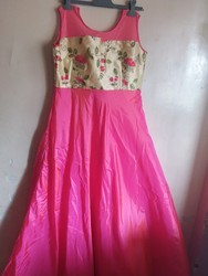 Pink Gown S, Size: Medium And XL