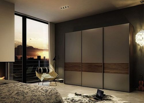 Wooden Wardrobes - Bedroom Modern Sliding Doors Wardrobes ...