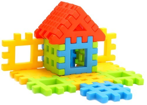 Fair Multicolor Happy Home Box Packing Building Blocks Early Learning Toy,  Rs 107 /piece | ID: 18575583073