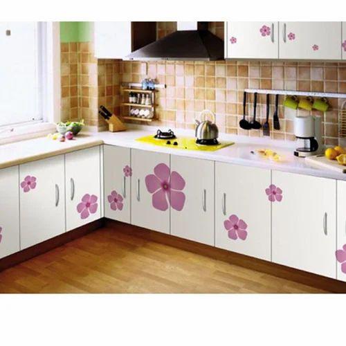 Modern Modular Kitchen Designs India Modular Kitchen Kolkata: Printed Modular Kitchen At Rs 40000 /unit