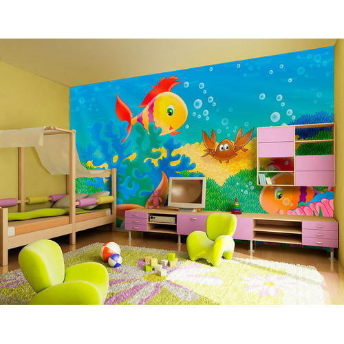 Room Wallpapers wallpaper printing services - kids room wallpapers printing