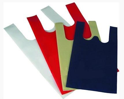 Pumv Orange And Yellow Non Woven U Cut Bags Size 1 000kgs 2 500