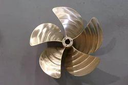Cast Aluminum Bronze Propeller Casting