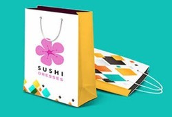 Multicolor Printed Paper Bags, Capacity: 2kg