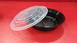 Pp Round Reusable Container ro16 ro24 ro32 ro40 ro48, For Food Storage, Capacity: 350 ml 550 ml 750 ml
