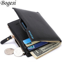 Male Bogesi Premium Bifold Leather Men's Wallet