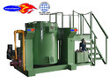 Hydraulic Tilting Crucible Furnace for Aluminum Melting
