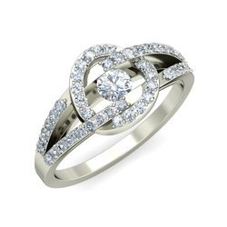 Women Natural Diamonds Solitaire Rings