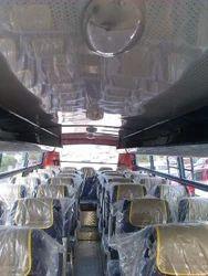 32 Seater Non Ac Bus Interior