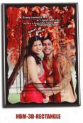 HBM- 3D- Rectangle Wooden Photo Frame